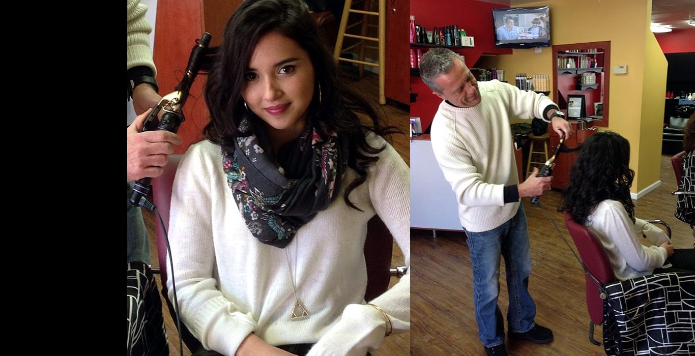 Perm and Hair Cuts at Hair Hut Studio